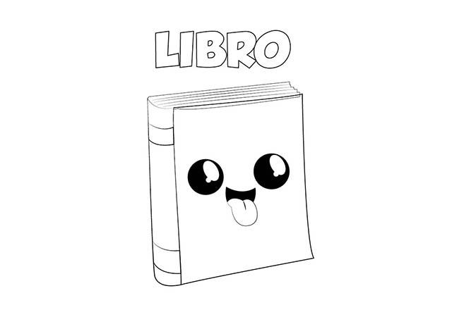 Dibujos Para Colorear De Libro Y Libreta: Dibujos Para Colorear De Un Cuaderno Imagui