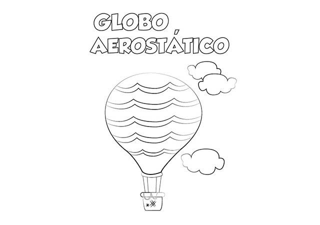 Worksheet. Colorear Dibujo Globo para imprimir  Colorear e Imprimir