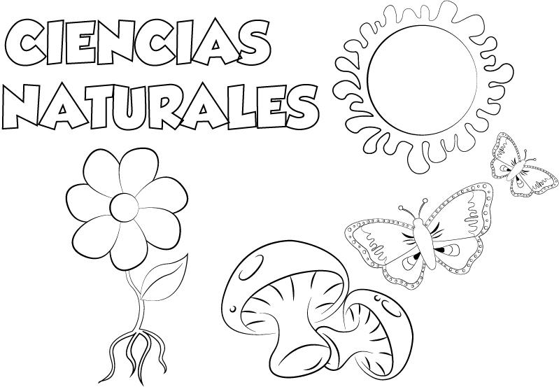 Dibujo Lengua Y Literatura Para Imprimir Y Colorear