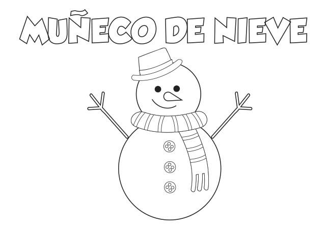 Muñeco De Nieve Dibujo: Colorear Dibujo RENO Para Imprimir ⋆ Colorear E Imprimir